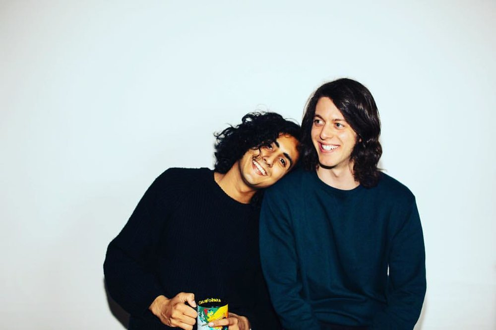 Tushar and Max, founding members of The Winter Gypsy. Photo by Charles Phillpot.