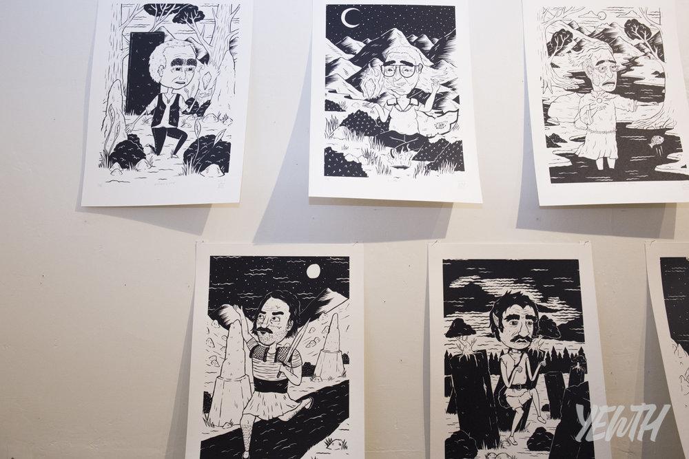 Prints by Jake Holmes