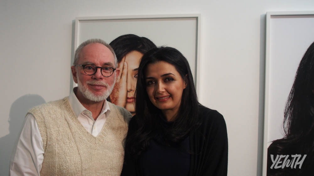 Pictured: Paul Greenaway (left) and Nasim Nasr (right)