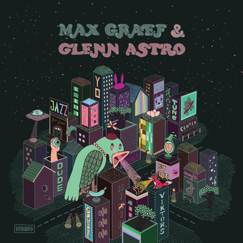 "Album cover for Max Graef and Glenn Astro's ""The Yard Work Simulator"" on Ninja Tune"
