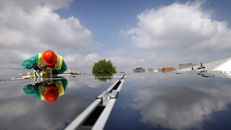 Google said Thursday it will invest $300 million in a new SolarCity Corp. fund expected to finance $750 million in residential solar projects. (Allen J. Schaben / Los Angeles Times)