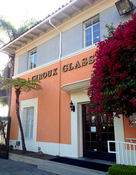 Giroux Glass HQ, a few miles south of Downtown LA