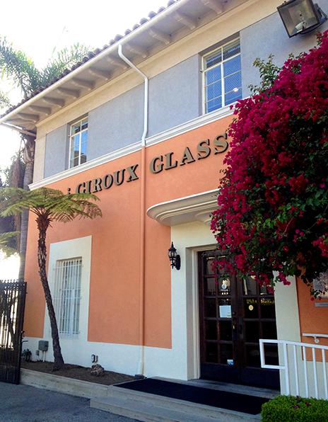 Giroux Glass HQ, a few miles south of Downtown LA