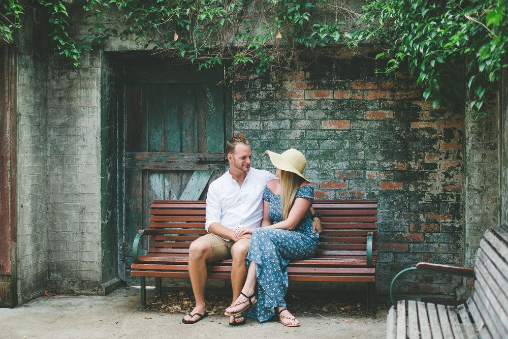 Brisbane Powerhouse Engagement Session. Lovelenscapes Wedding Photography.