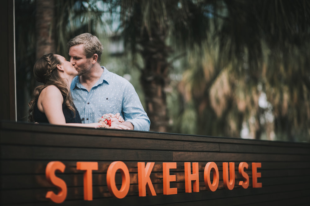 Brisbane South Bank Lovelenscapes Engagement Photography Stokehouse Proposal