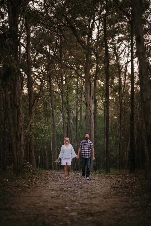 Lovelenscapes Brisbane Engagement Photographer Forest Engagement Wedding Photographer
