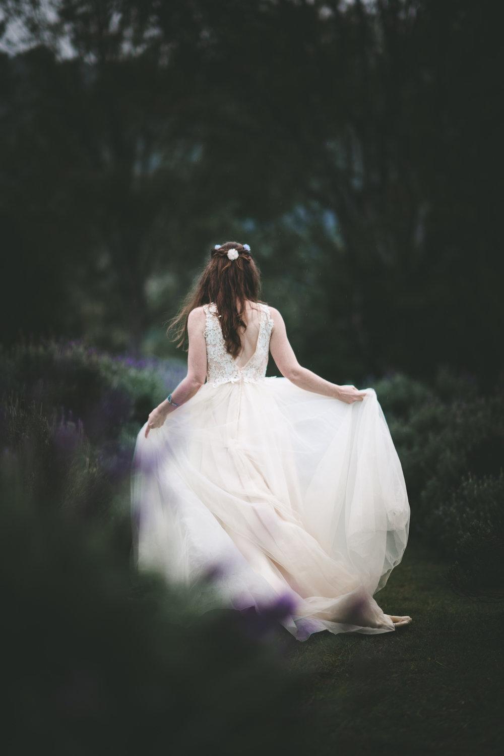Lovelenscapes Brisbane Wedding Photographer Blue Ridge Lavender Farm Elopement