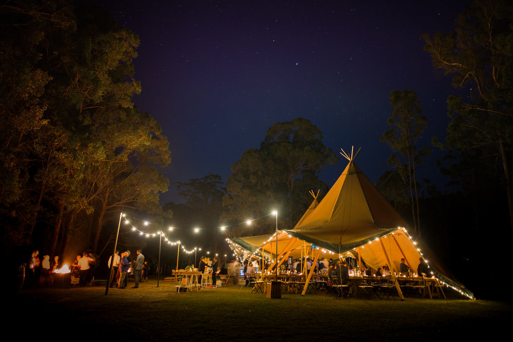 Tipi Wedding Lovelenscapes Brisbane Wedding Photographer Springbrook Wedding Kookaburra