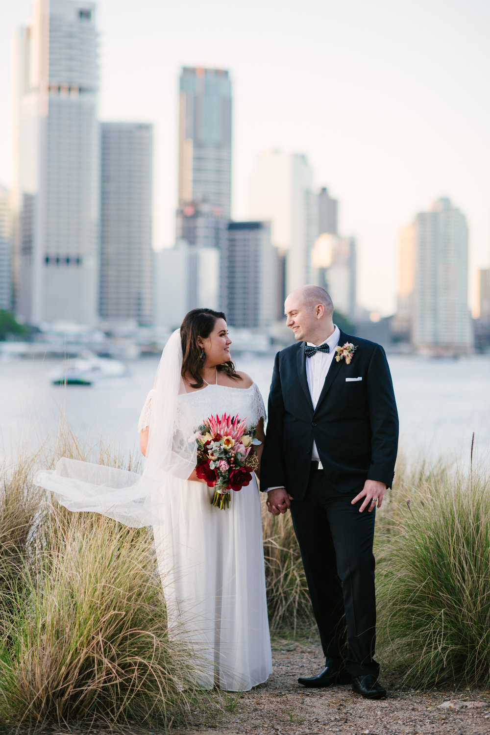 Lovelenscapes Photography • Brisbane Wedding Photographers • Landing at Dockside • Kangaroo Point Wedding Brisbane