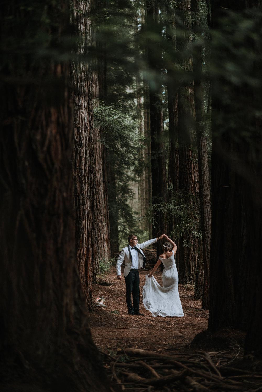 Warburton Redwood Forest Elopement