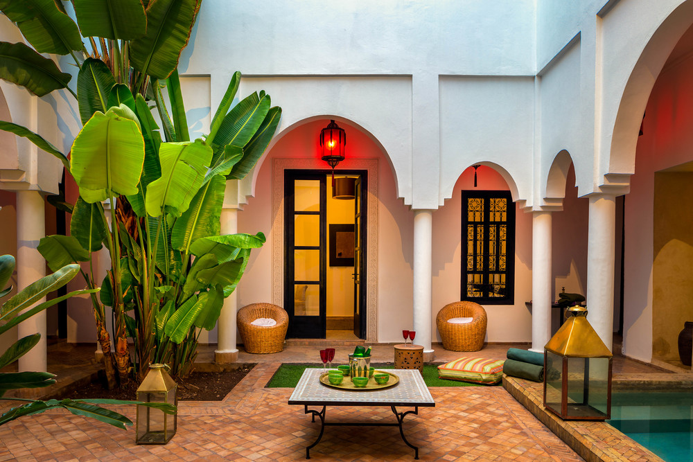 Explore the riad Capaldi