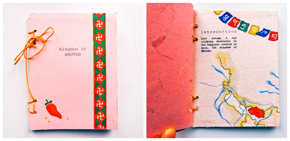 pocket book about our two weeks journey to the kingdom of Bhutan