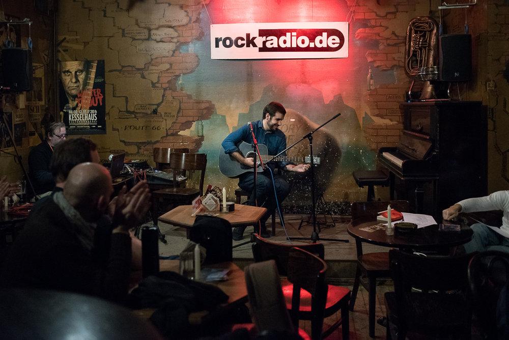 Antoine Villoutreix, musician - Guest on rockradio.de