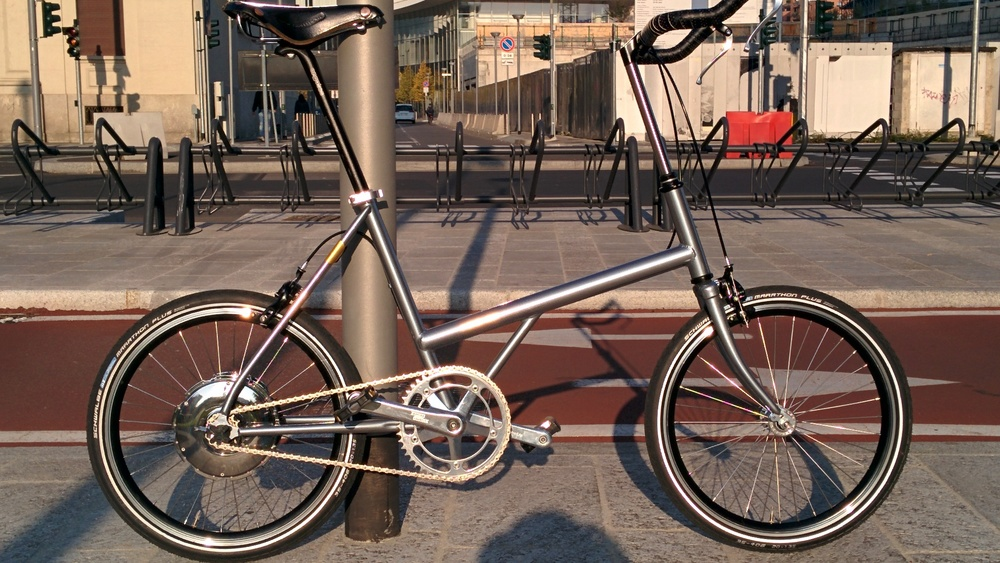 Vrum e-bikes are proudly designed and assembled in Milano, Italy