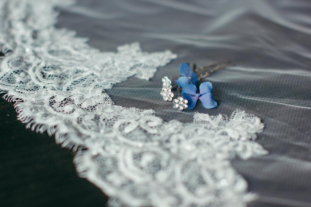 Matrimonio in bianco e blu