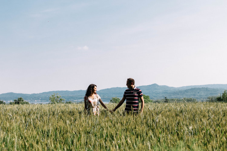 Un piccolo flashback... - L'engagement di Alessia e Stefano.