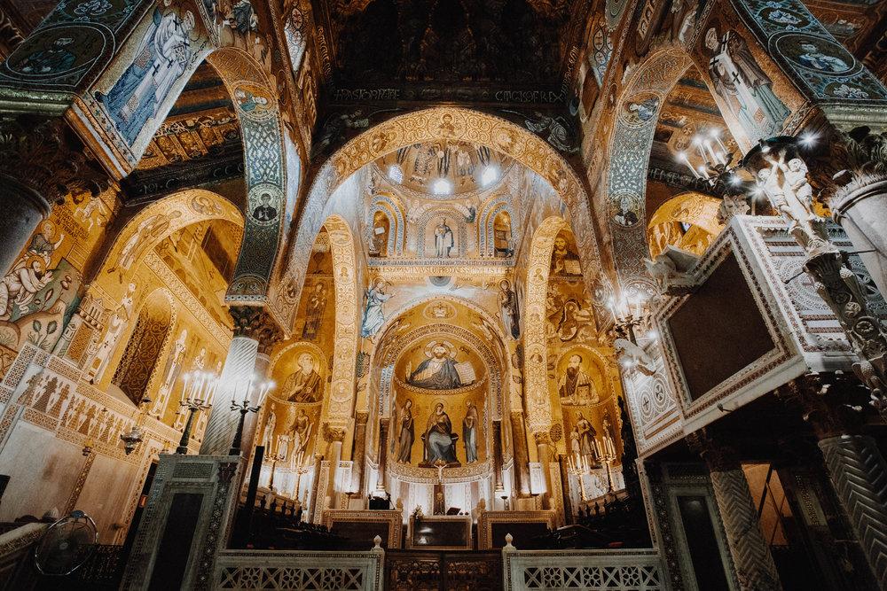 005 - Palazzo Reale - Cappella Palatina.JPG