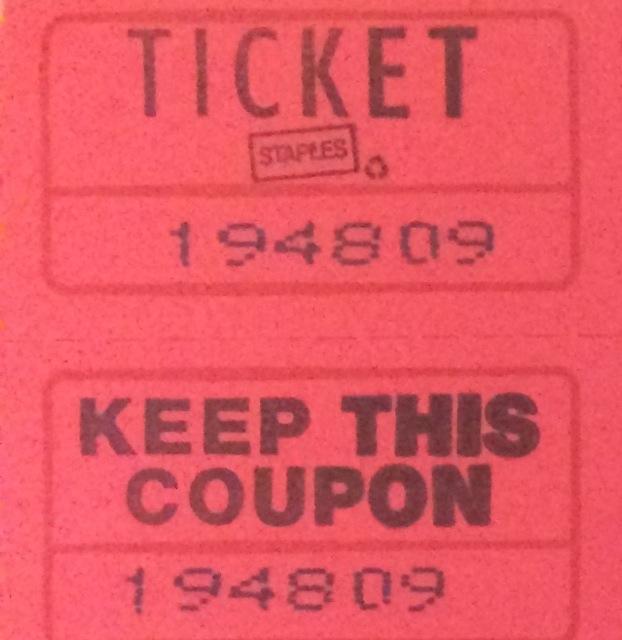 1 raffle ticket nebra