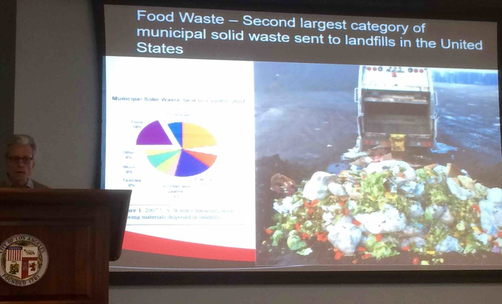 Drew McAvoy investigates food waste diversion from landfills for beneficial uses.