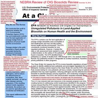 This NEBRA response to the EPA OIG report underscores the narrow focus of the OIG's review.