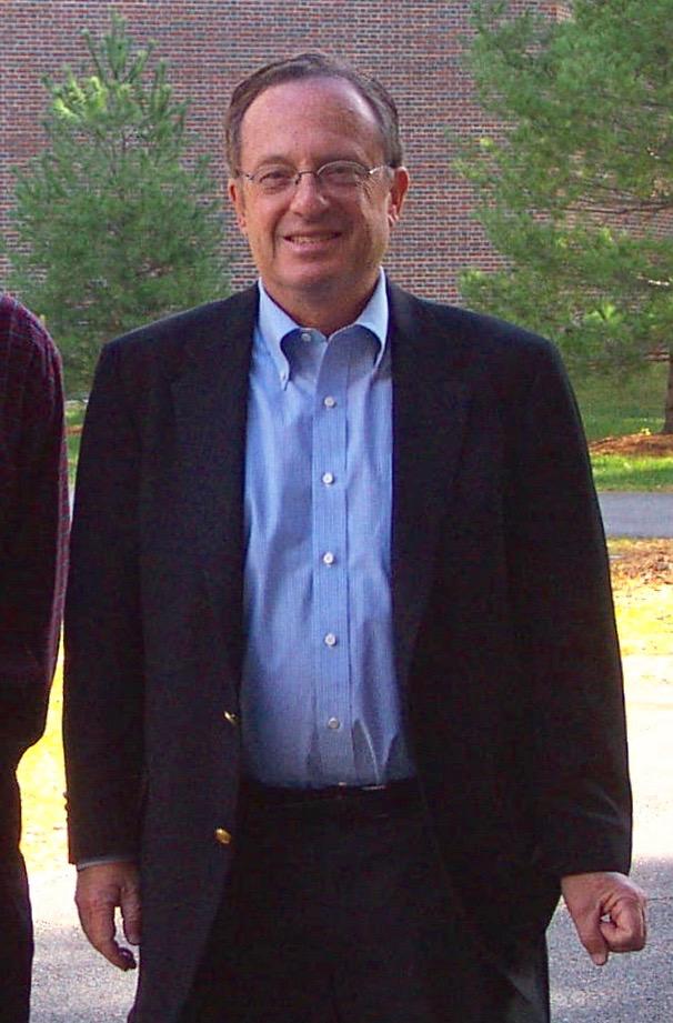Alan Rubin presented about biosolids at Bowdoin College, Brunswick, Maine, Nov. 2005