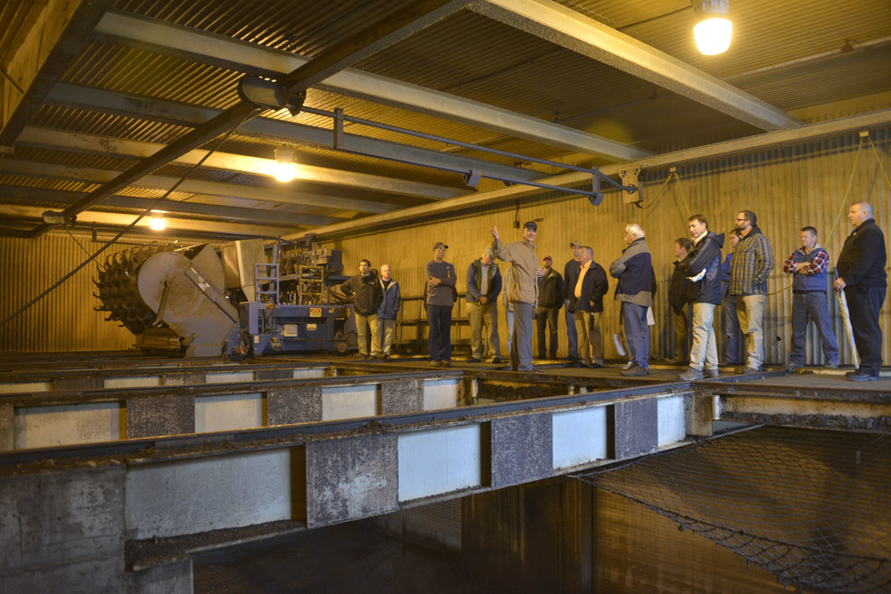 LAWPCA provided numerous tours of the compost facility, including as part of the North East Residuals & Biosolids Conference in Oct. 2014.