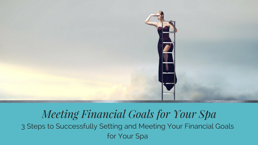 3 Steps to Successfully Setting and Meeting Your Financial Goals for Your Spa