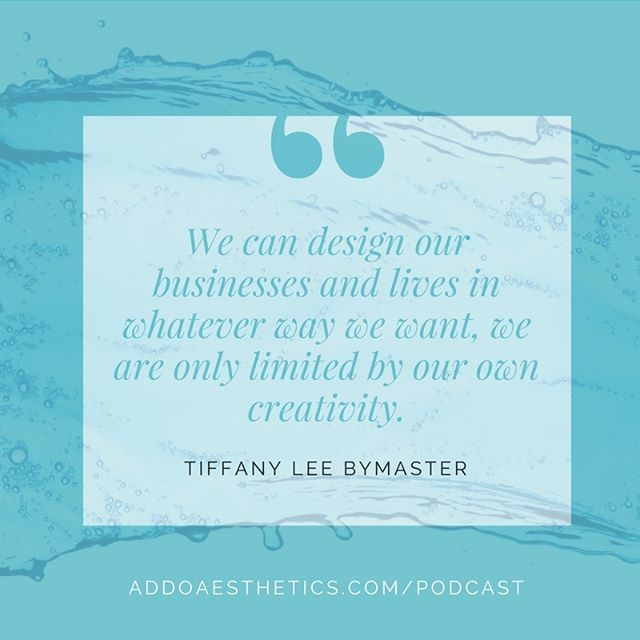 The only limits to what's possible for you is what you BELIEVE is possible for you! On this week's #SpaMarketingMadeEasy podcast episode, I'm talking with @coachglitter all about livestreaming, but more importantly, how it can be the gateway for designing the life and business you're dreaming of. Tune in via the link in my bio!