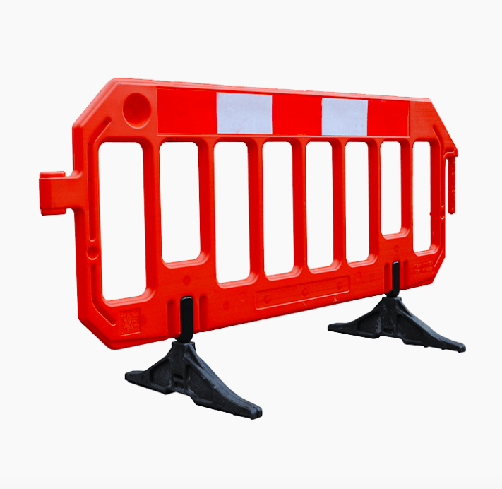 Chapter 8 Road Barrier - Conforming chapter 8 regulations, these highly visible 2 metre long guard barriers are ideal for road closures or closing off set areas.> PRICES FROM £6.00