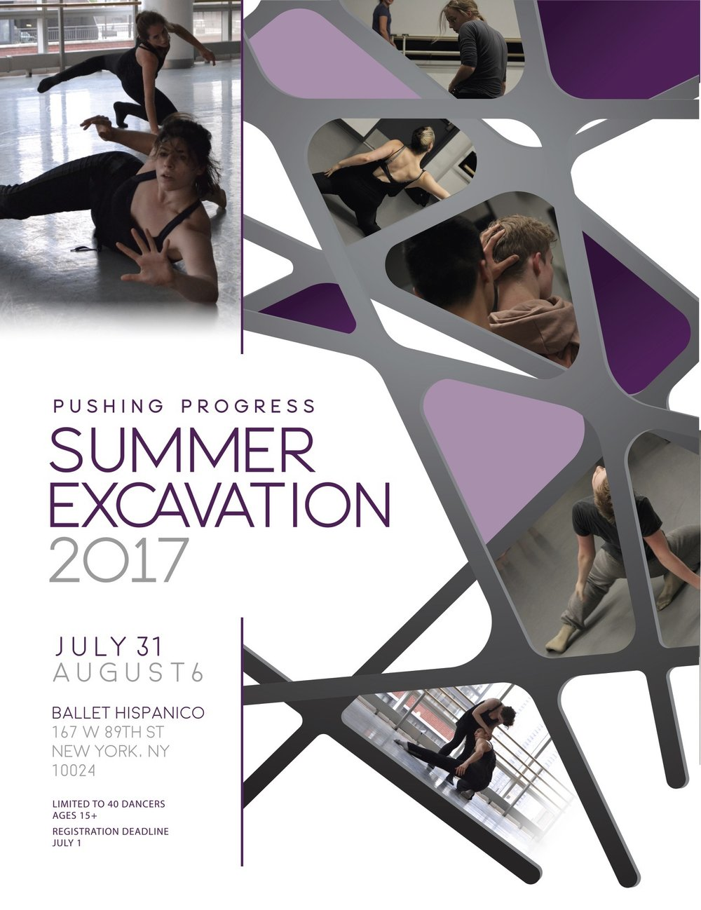 Summer Excavation Pushing Progress Contemporary Dance