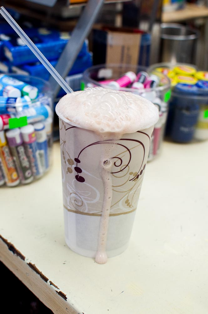 Egg Cream at Gem Spa | Photo Credit: Find. Eat. Drink.