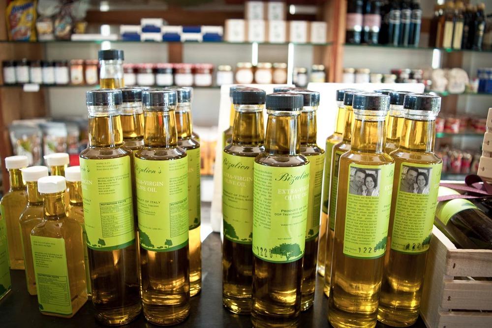 Olive oil at Bizalion's | Photo Credit: Find. Eat. Drink.
