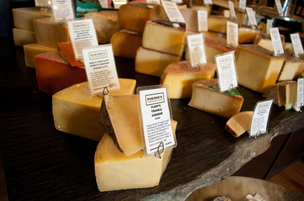 Cheese at Rubiner's Cheesemongers | Photo Credit: Find. Eat. Drink.