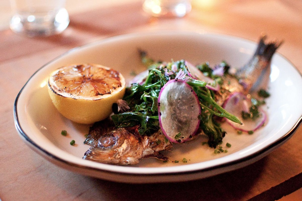 Grilled Sardines at Prairie Whale | Photo Credit: Find. Eat. Drink.