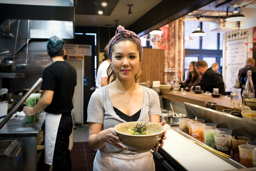Chef Esther Choi | Photo Credit: Find. Eat. Drink.