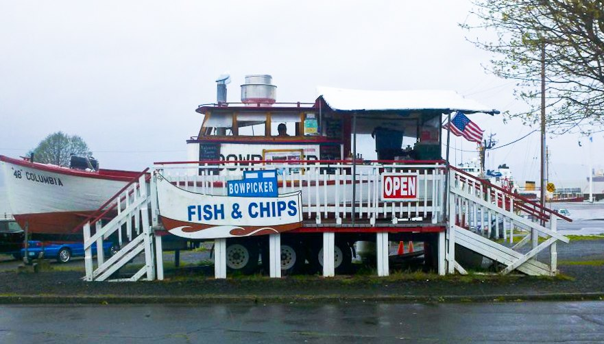 Photograph courtesy of Bowpicker Fish & Chips