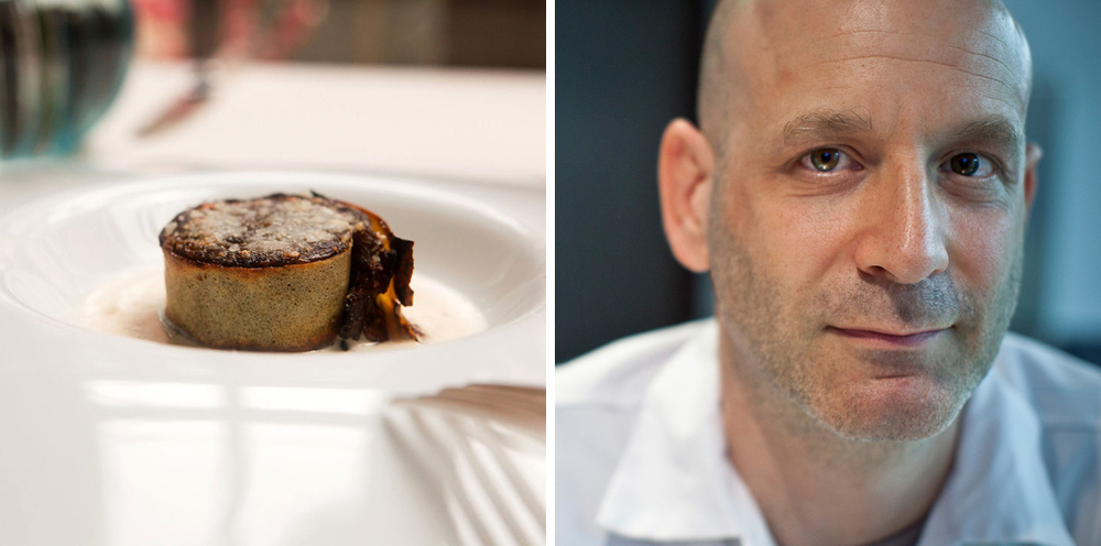 Sweet onion crepe with truffle fonduta | Chef Marc Vetri ( Photographs courtesy of Vetri)