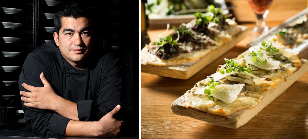 Chef Jose Garces | Cocas at Amada ( Photographs courtesy of Jose Garces)