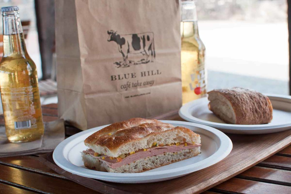 Lunch at Blue Hill Cafe at Stone Barns | Photo Credit: Find. Eat. Drink.