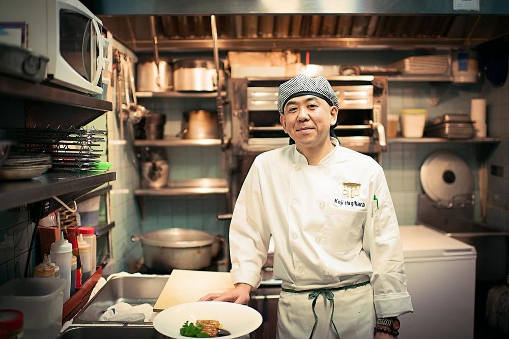 Chef Koji Hagihara | Photo Credit: Troy House