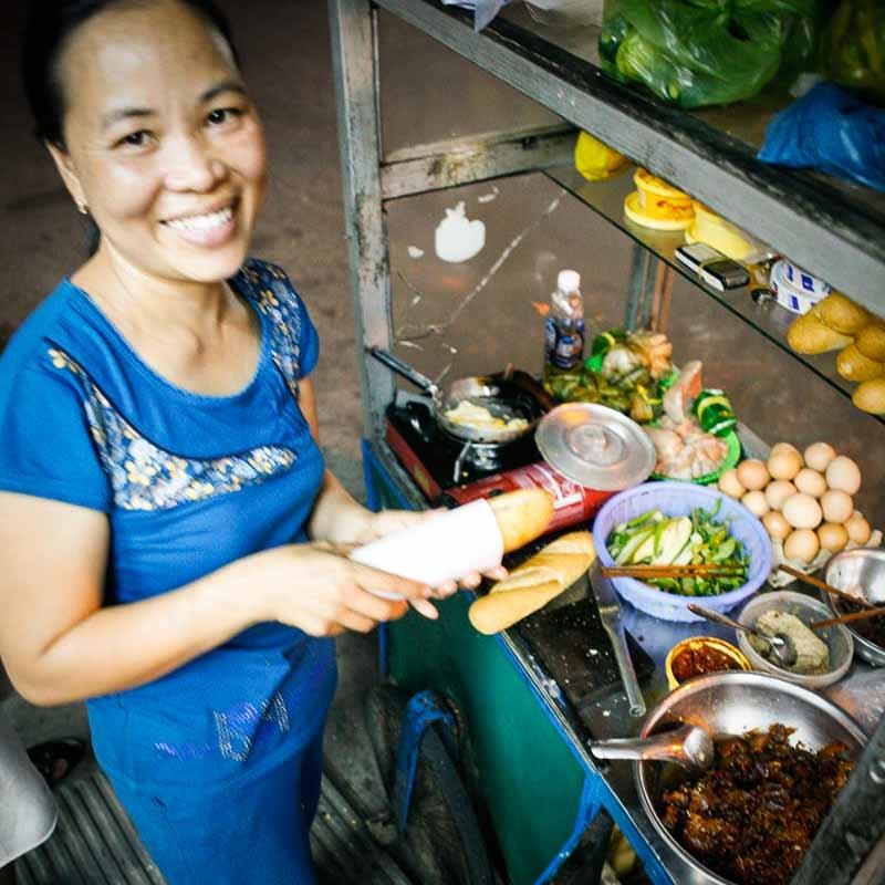 Banh Mi Stall | Photo Credit: Dylan Benoit