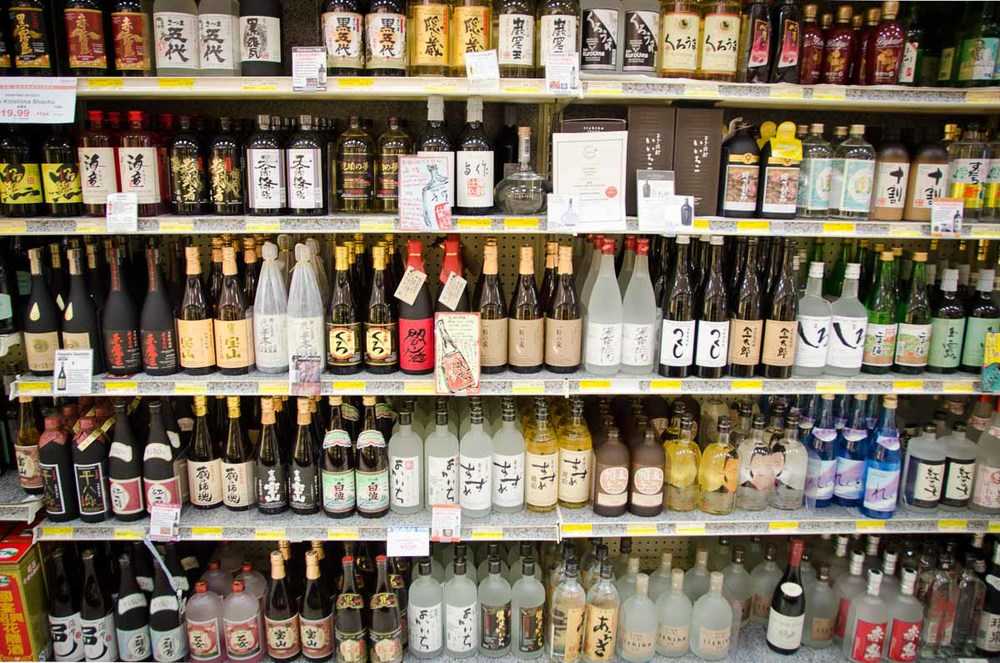 In addition to sake, Mitsuwa offers a large selection of shochu | Photo Credit: Find. Eat. Drink.