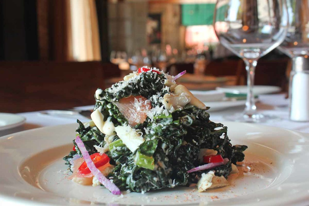 Charred Local Kale Salad | Photo courtesy of Emeril's