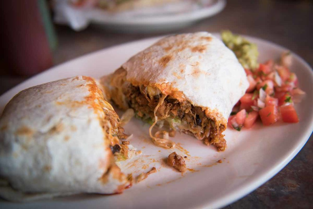 Spicy Pork Burrito at Castro's | Photo Credit: Find. Eat. Drink.