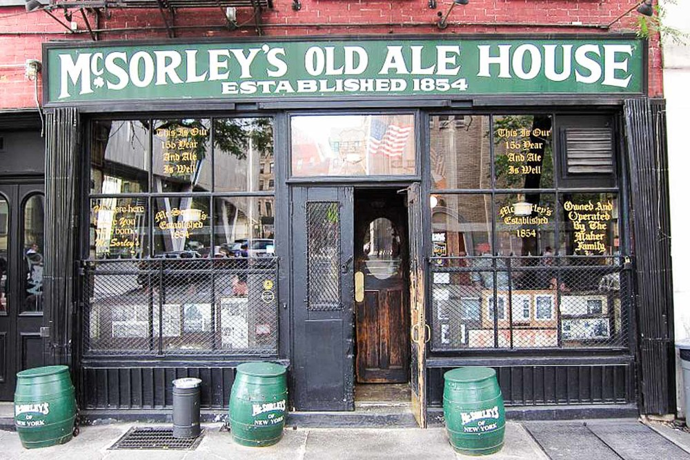 Photograph courtesy of McSorley's