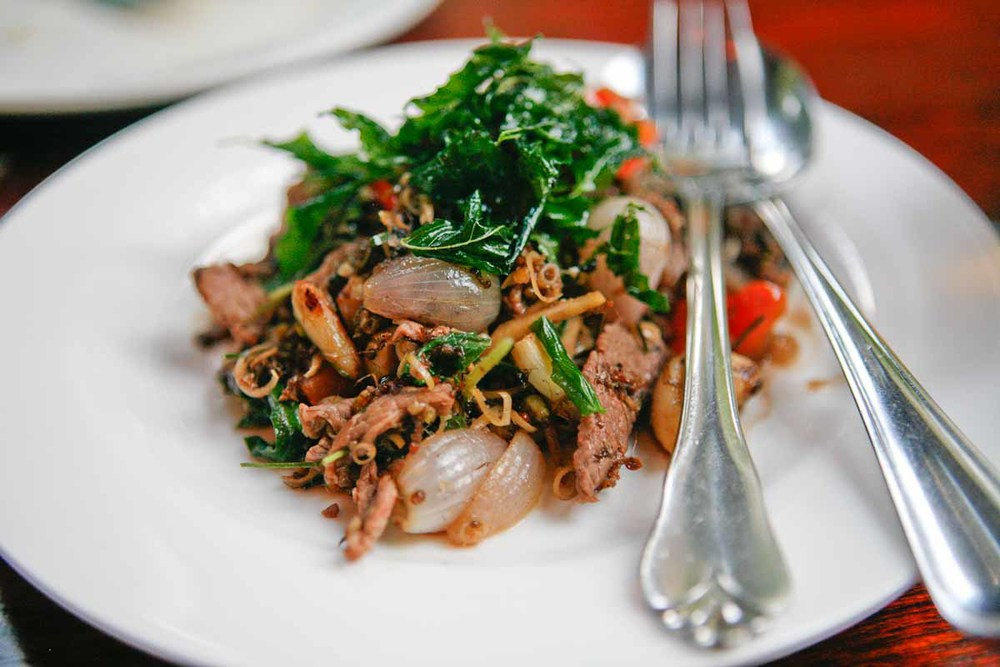 Stir-fried Beef with Wood Ants | Photo Credit: Dylan Benoit