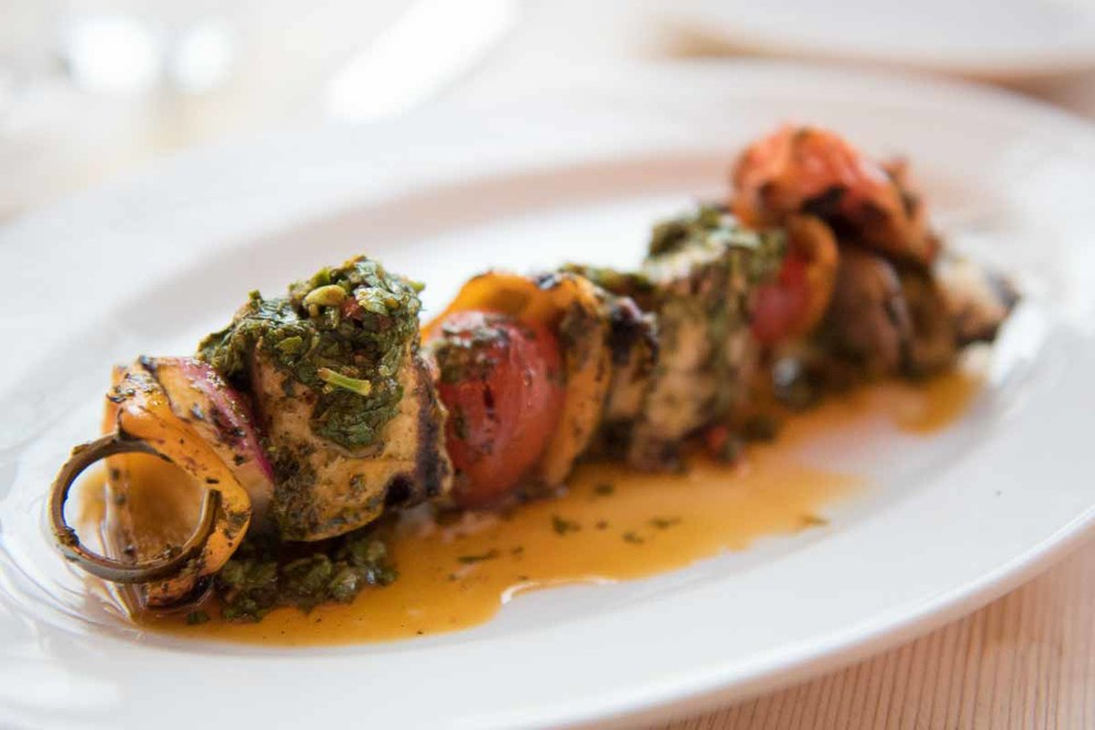 Swordfish Kebab at Ruschmeyer's | Photo Credit: Find. Eat .Drink.