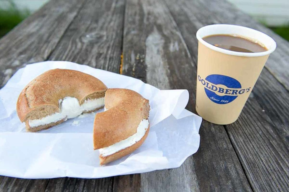 Breakfast at Goldberg's Bagels | Photo Credit: Find. Eat. Drink.