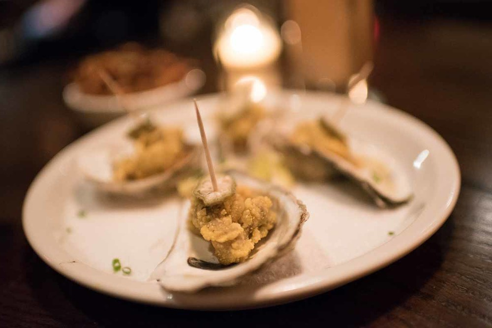 Fried Oysters with Comeback Sauce