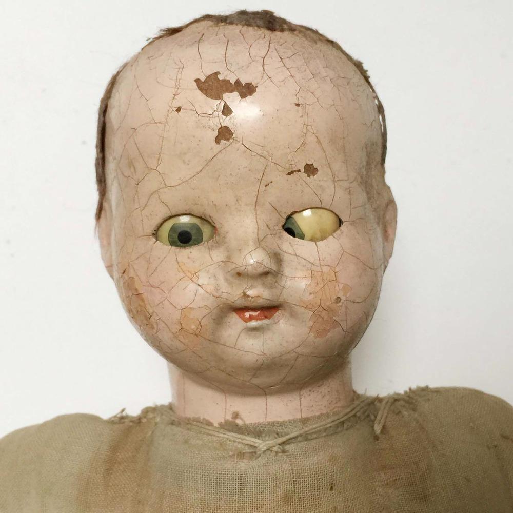 Creepy Doll Exhibit atMystery Spot Antiques